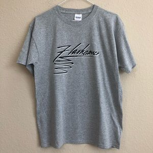 Vintage Flashdance Iron-On On New T-Shirt NWT